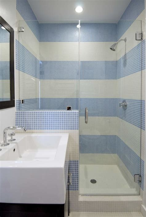 striped bathrooms shower with stripe tiles design ideas