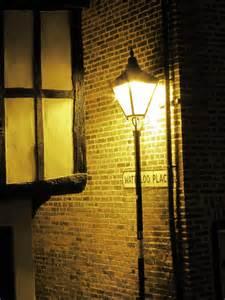Street lamp at night street lamp at waterloo place