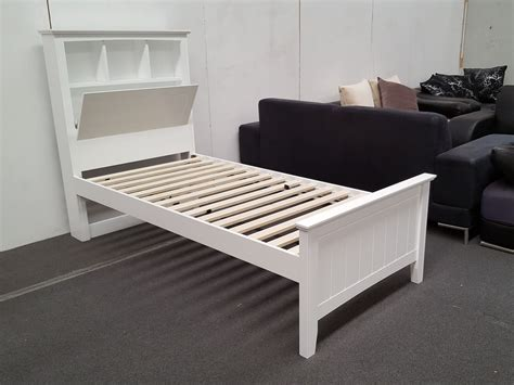 white headboard single bed furniture place kaylee single bed with box headboard in white