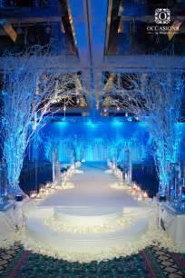 Winter Wedding Aisle Decorations - winter wonderland theme occasions by shangrila