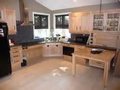Accessible Kitchen Design Space The Corner Sink And Cabinets Accommodates A