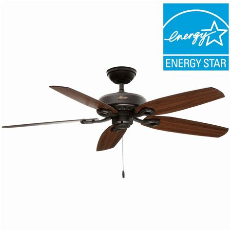 builder elite ceiling fan builder elite 52 in indoor bronze ceiling fan