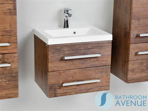 Wooden Bathroom Vanity Units Wall Hung Resin Basin Vanity Unit 2 Drawer Antique Wood Giuseppine Contemporary Sink Cabinet