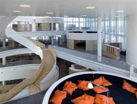 Stairs On Floor Plan 216 restad college by 3xn