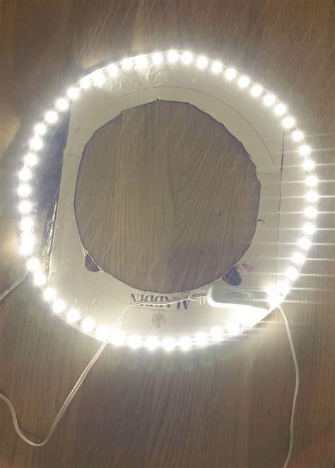diy led video light diy ring light led strip diy do it your self