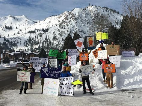 Judith Mountain Cabin updated the community rallies to protect squaw valley