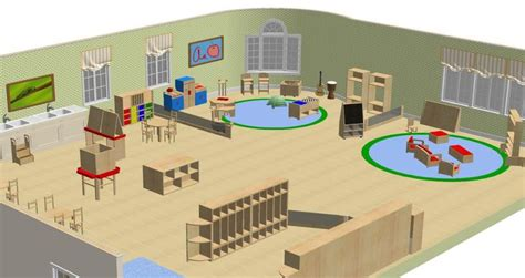 layout for kindergarten classroom classroom layout rendering as inspiration client
