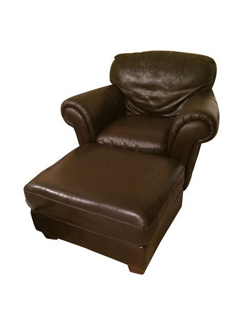 italsofa leather recliner natuzzi italsofa leather chair and ottoman set chairish