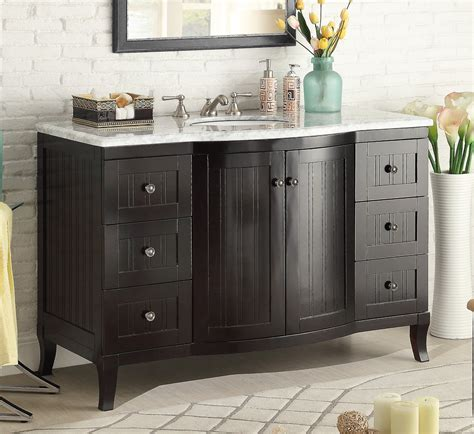 49 inch bathroom vanity cottage style beadboard