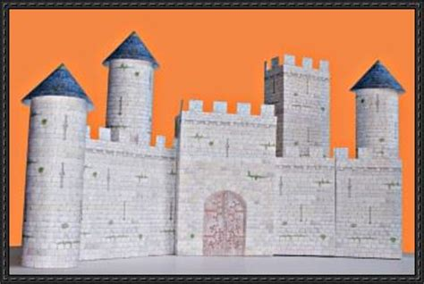 papercraftsquare com new paper craft simple medieval