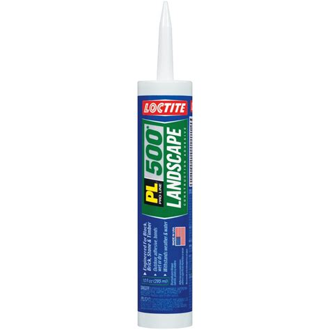shop loctite landscape block adhesive at lowes