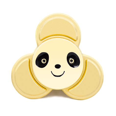 Fidget Spinner Pandafidget Spinner Panda Quality 5 8 minutes small panda tri spinner fidget toys pattern