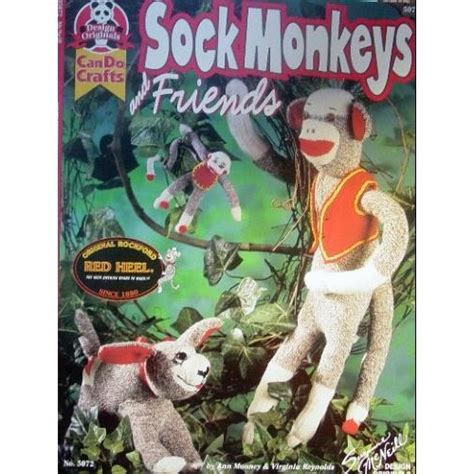 sock animals book sock monkeys and friends can do crafts mooney