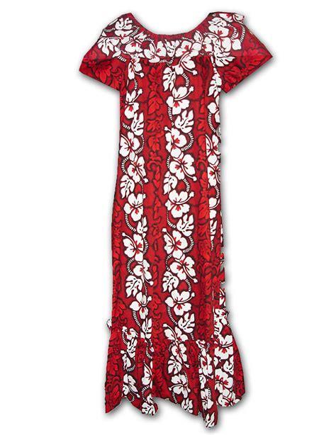 Luxy Ruffle Dress hawaiian muumuu dresses honolulu wedding dress