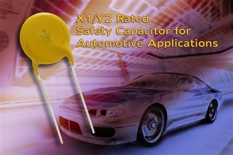 aec disc capacitor vishay rutronik presents new aec q200 qualified ceramic disc safety capacitors