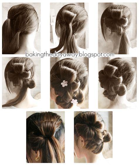 tutorial menata rambut panjang dengan mudah cara ikat rambut panjang cara mengikat rambut panjang