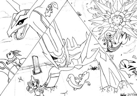 gates to infinity bosses mystery dungeon battles lineart by