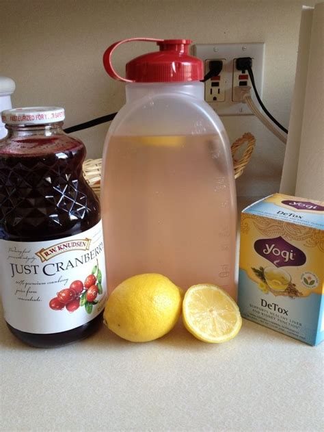 Cranberry Chia Detox Drink by Best 25 Cranberry Juice Detox Ideas Only On