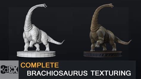 zbrush dinosaur tutorial zbrush tutorial complete dinosaur brachiosaurus