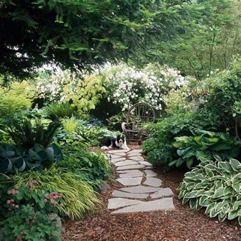 create a shaded seating area in the garden interior