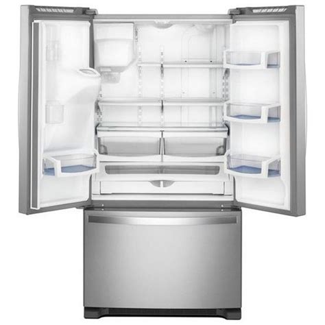 cabinet depth refrigerator 36 wide wrf550cdhz whirlpool 36 quot 20 cu ft counter depth french