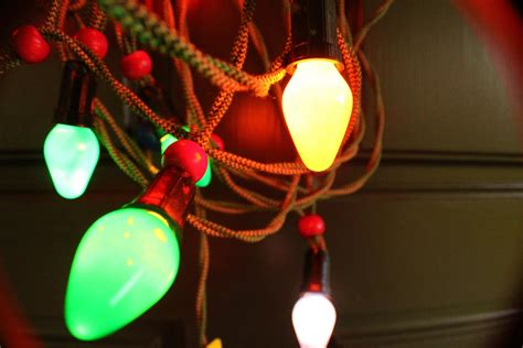 collecting vintage christmas lights my sweet cottage