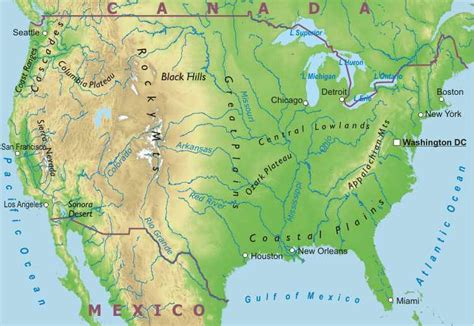 map of mountains in america the about god