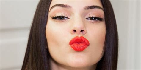 Lipstick Jenner kendall jenner releases own lipstick and wears piercings which trend would you try