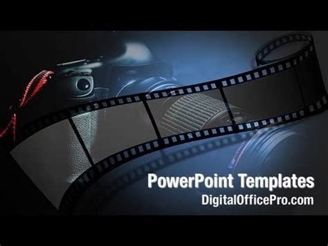 Camera Film PowerPoint Template Backgrounds