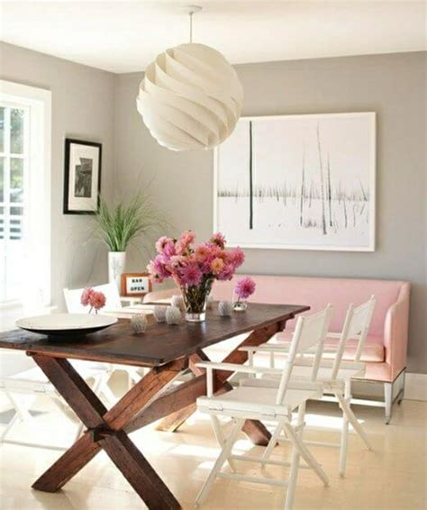couch in dining room modern pink sofa dining room apartment geeks