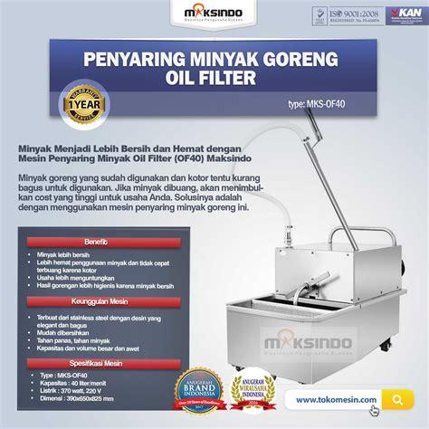 jual penyaring minyak goreng oil filter   blitar
