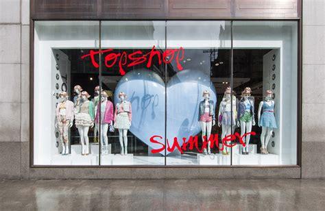 store windows topshop summer windows by crm 187 retail design