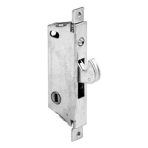 prime line white twist in sliding patio door lock u 9850