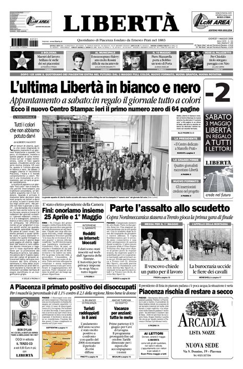 di piacenza on line liberta 20080501 by liberta issuu