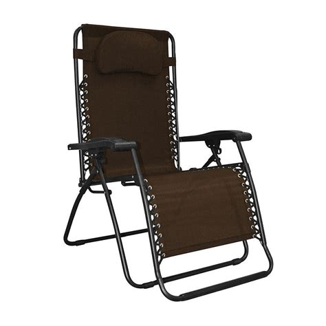 amazoncom caravan sports infinity oversized  gravity chair brown patio recliners