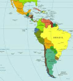 map of south and central america with capitals speaking countries capitals with