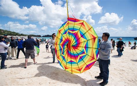 Ready Sf Bermuda 9 kitefest is ready to fly bermuda sun