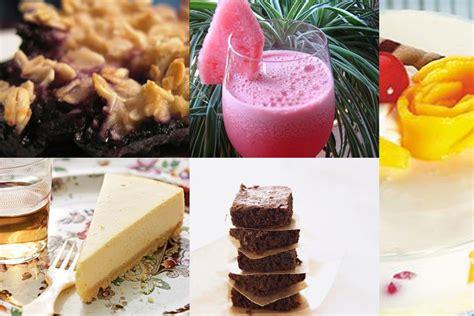 5 healthy dessert ideas