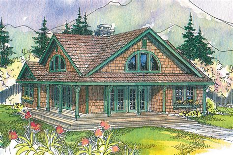 house plans with views craftsman house plans cedar view 50 012 associated designs