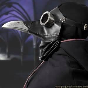 Plague Doctor Costume Steampunk Bubonic Plague Doctor Mask Costume International Shipping