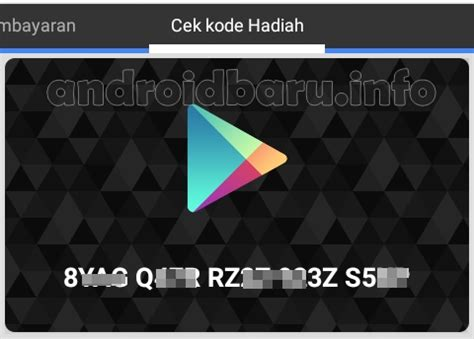 Google Play Gift Card Rewards - cara mendapat google play gift card gratis