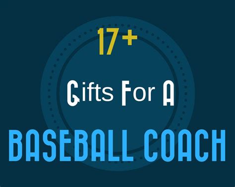 unique gifts for baseball 17 great gift ideas for a baseball coach