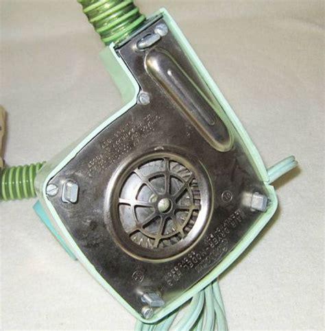 Vintage Bonnet Hair Dryer Ebay vintage sunbeam hair dryer model hd 3 with soft