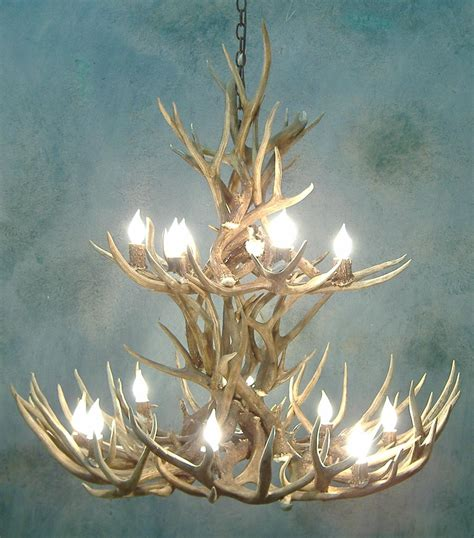 Pottery Barn Antler Chandelier L Deer Horn Chandelier With Authentic Look For Your Lighting Need Tenchicha