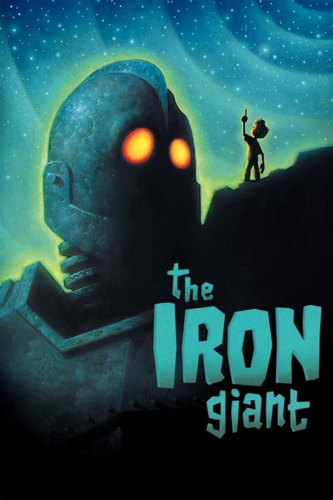 The Iron Giant by The Geeky Nerfherder Movie Poster Art The Iron Giant 1999