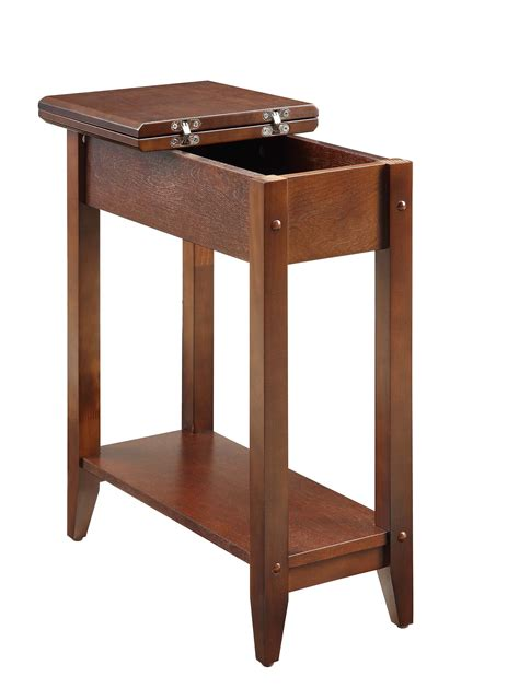 american flip top desk american heritage flip top end table 7105059es