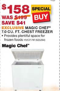 Magic chef 7 0 cu ft chest freezer blackfriday fm
