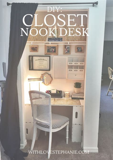 desk inside a closet 25 best ideas about closet desk on closet