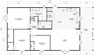 Double Wide Floor Plans Nc single wide trailer floor plan in addition house plans for sale in nc