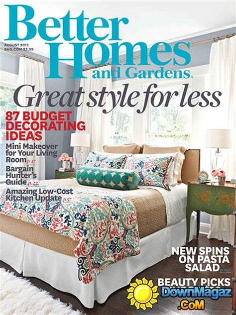house and garden magazine usa better homes and gardens usa august 2013 187 download pdf